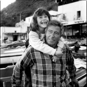 Filicudi, padre e figlia